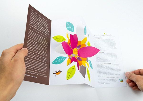 Cool D Pop Up Brochure Design Ideas Brochures Brochure - 3d brochure template