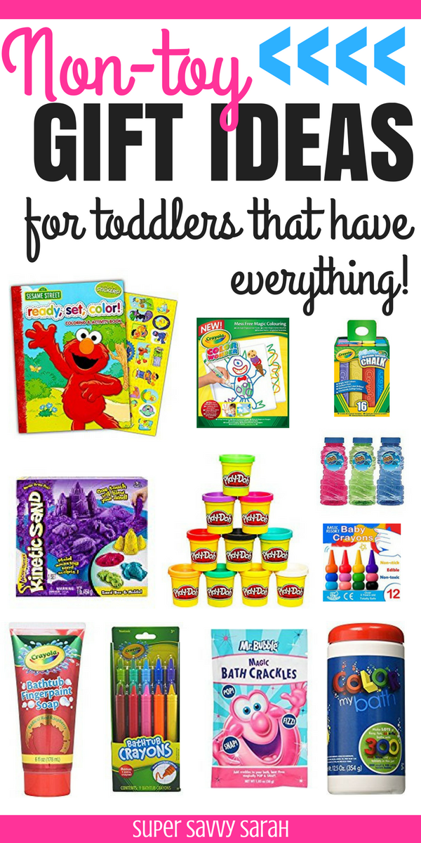 Looking for a unique toddler gift idea that is not a toy? Check out this list of nontoy toddler gift ideas that are consumable! Great birthday gift ideas ...  sc 1 st  Pinterest & Nontoy Gift Ideas for Toddlers Who Have Everything