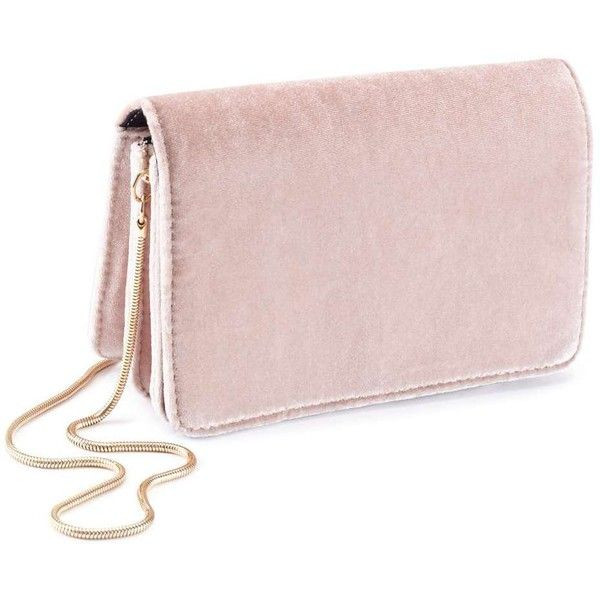 Miss Selfridge Velvet Mini Cross Body Bag 125 Ils Liked On Polyvore Featuring