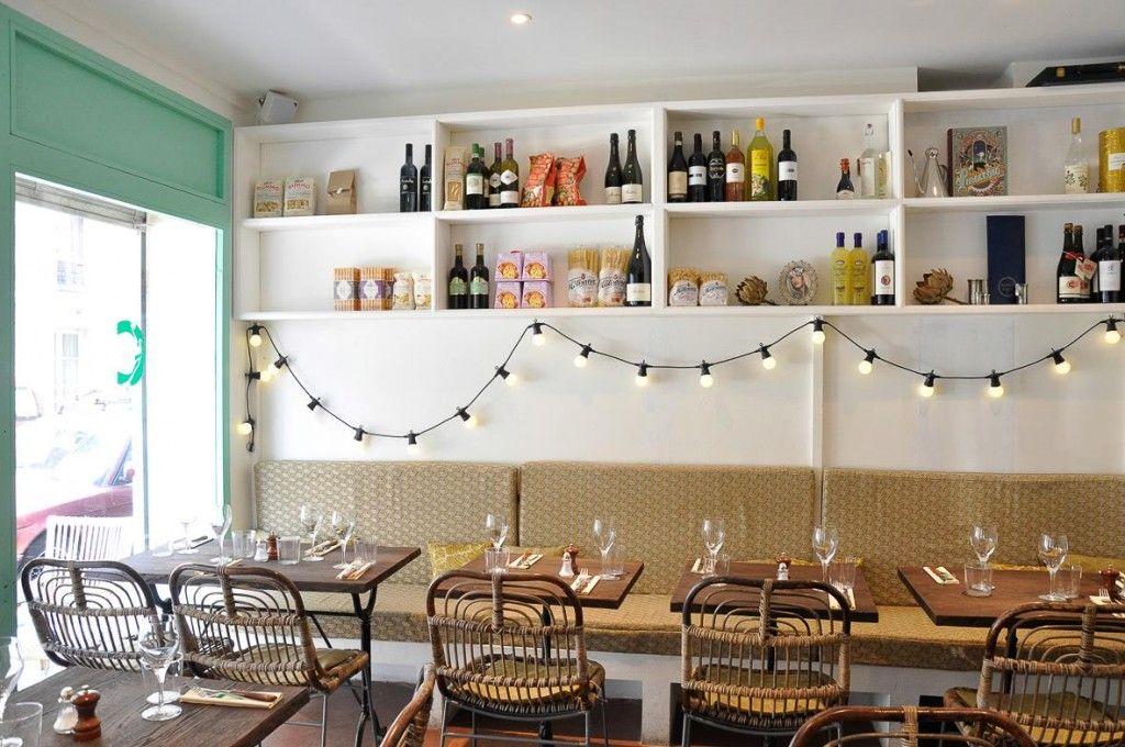 Design, restaurant, Italian food, Paris (France) - Cicciolina - Photo by FØLSOM Studio