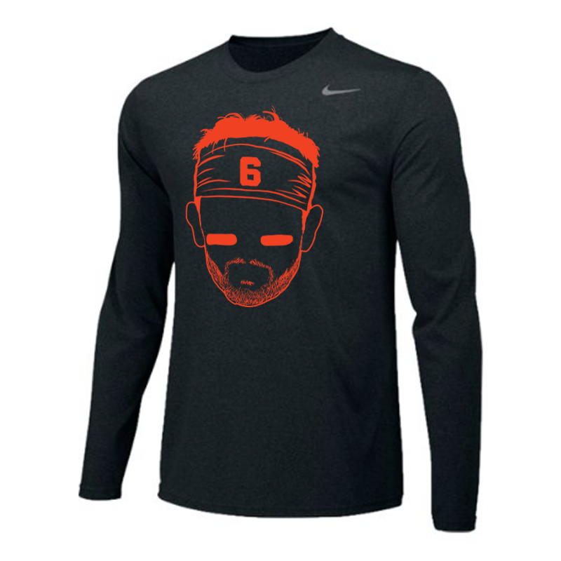 Baker Face Longsleeve Nike Tee Long sleeve tshirt men