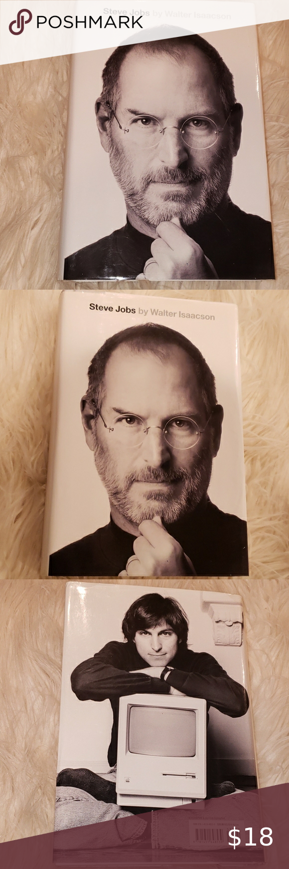 Hardback Book Steve Jobs By Walter Isaacson Steve Jobs Steve Job