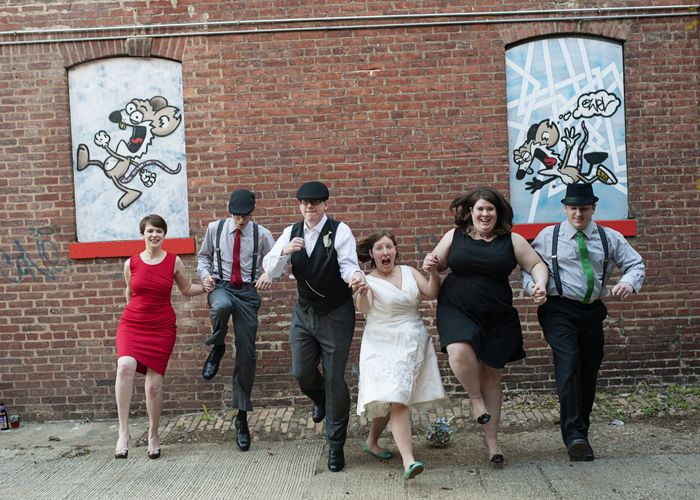 Love Nontraditional Crazy Wedding Party Pictures Dianne William S Offbeat Geeky Dc Wedding With A Pi D Dc Weddings Wedding Parties Pictures Crazy Wedding