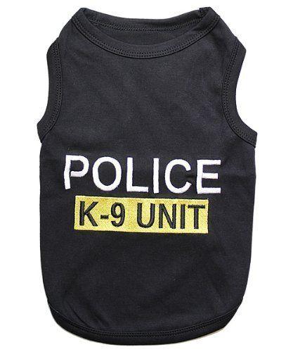 Parisian Pet Police Dog T-Shirt, Small Parisian Pet http://www ...