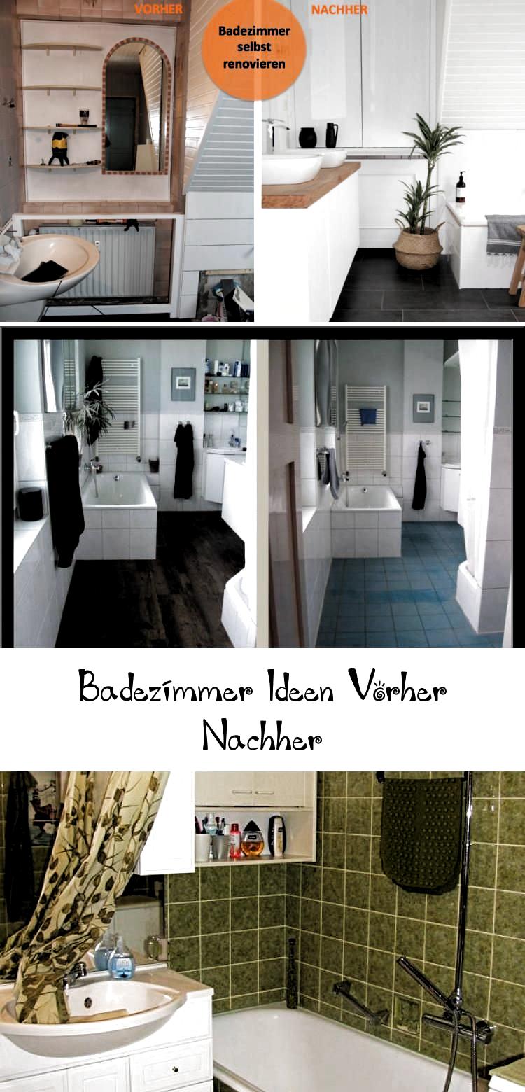 Die Idee Vorher Nachher Badezimmer De Badezimmer Badezimmerdekorationbilder In 2020 Badezimmer Renovieren Badezimmer Altes Haus Renovieren