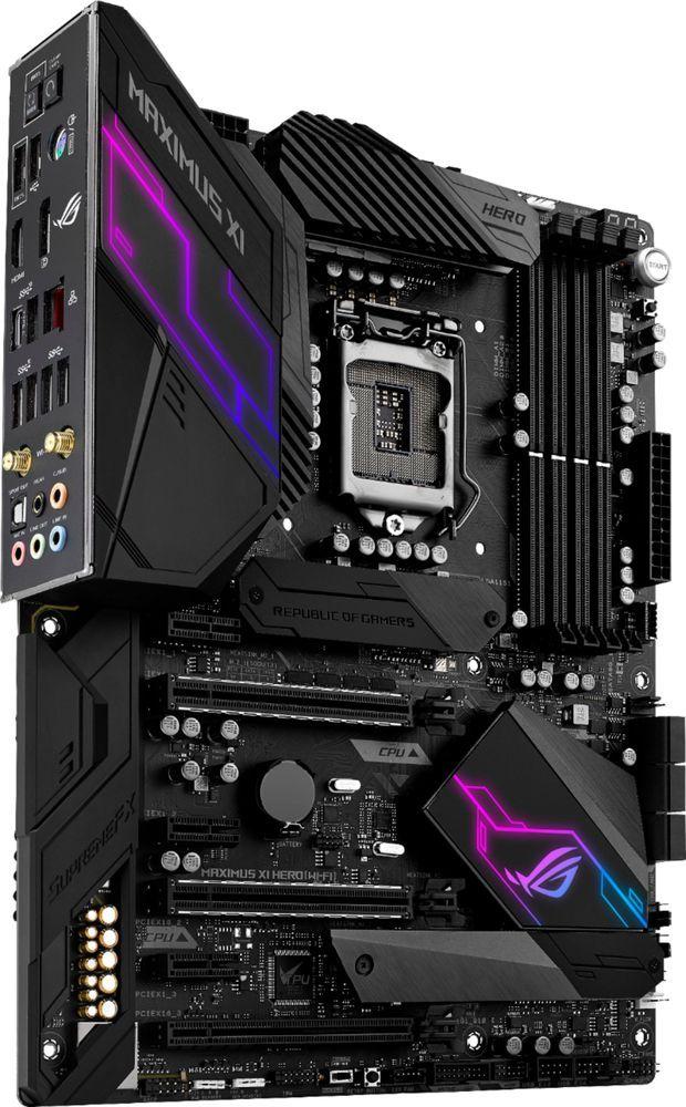 ASUS - ROG MAXIMUS XI HERO (WI-FI) (Socket LGA1151) USB 3 1 Gen 1