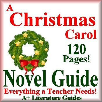 This is a 120 page common-core aligned complete Literature Guide for A Christmas Carol; the ...