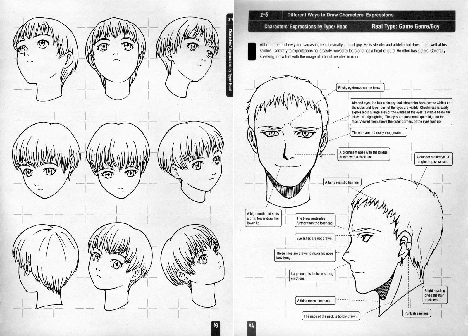How To Draw Anime & Game Characters, Vol 1: Basics For Beginners And