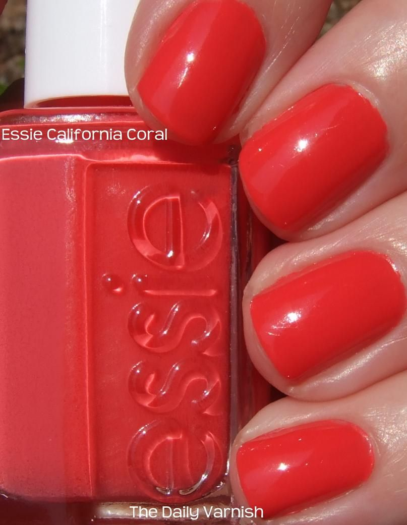 Essie \'California Coral\'   Uñas   Pinterest