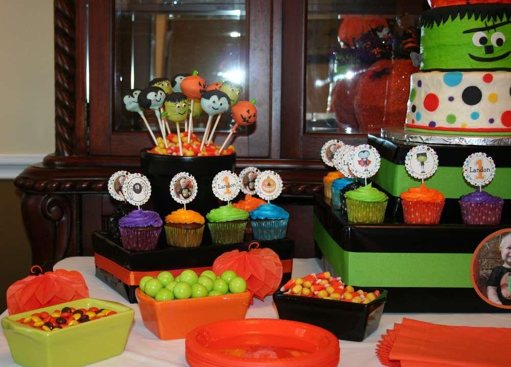 Halloween first birthday halloween party ideas halloween