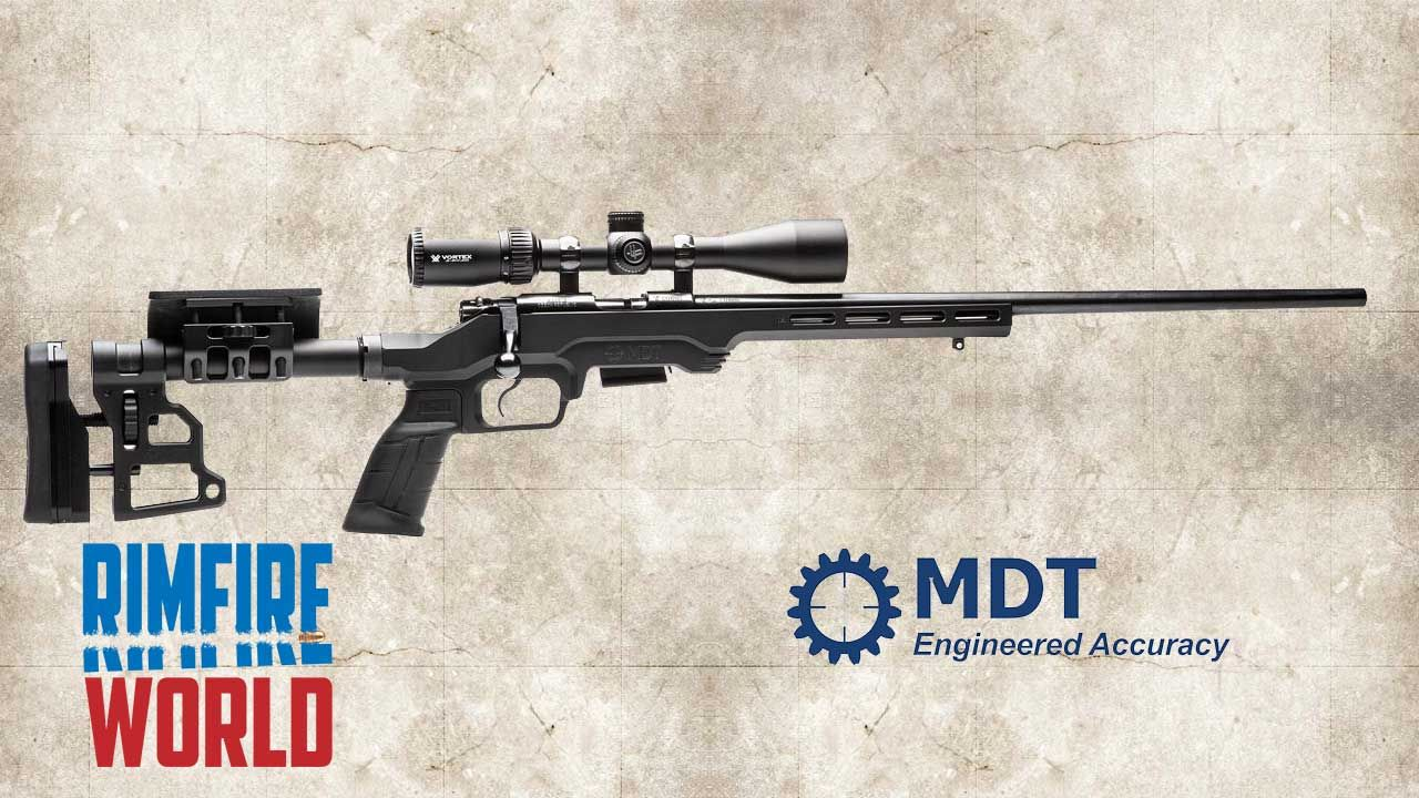 MDT GEN 2 LSS Rimfire Chassis for Ruger American  22, Savage A22