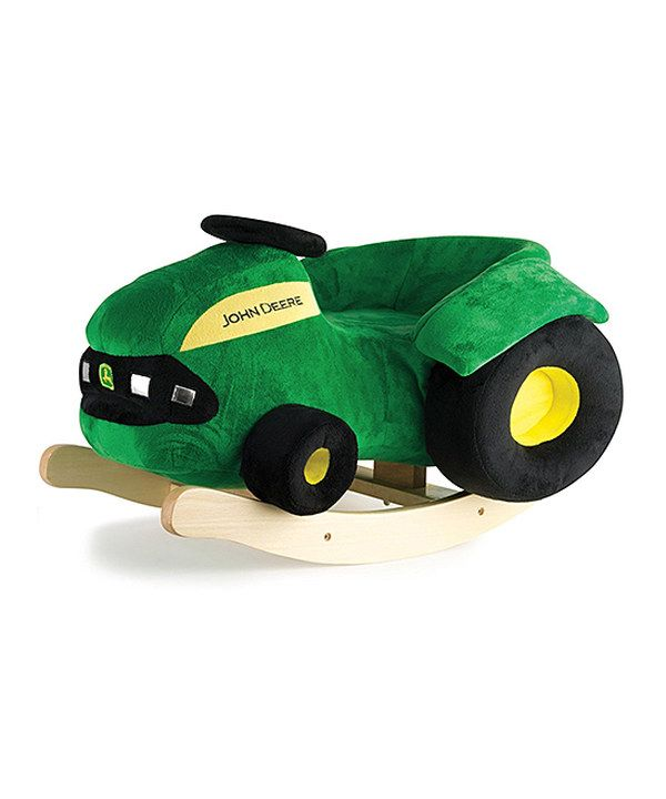 Look At This John Deere Plush Rocking Tractor On Zulily Today