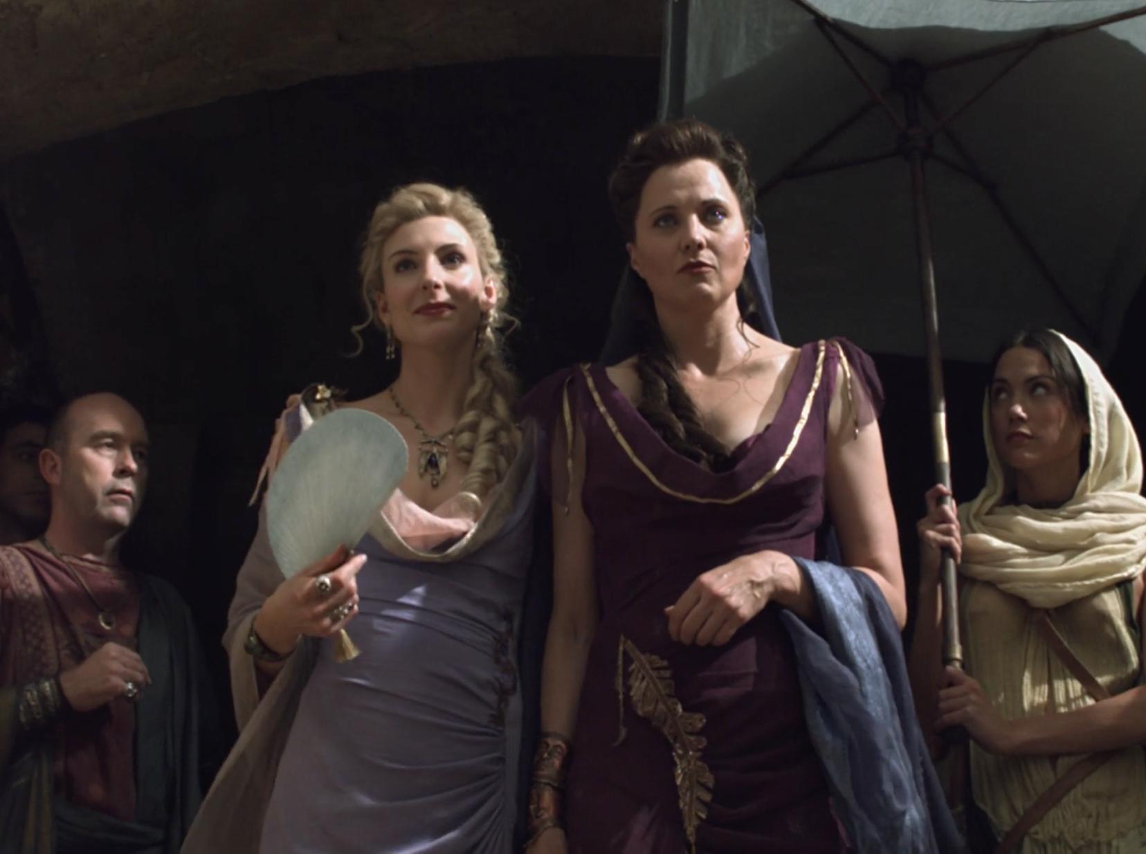 "ilithyia & lucretia - spartacus: vengeance ""fugitivus"" | another"