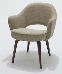 Knoll Eero Saarinen Executive Arm Chair With Wood Legs In 2020 Saarinen Chair Furniture