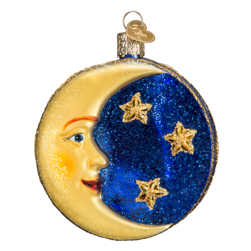 Man in the Moon Ornament | Christmas parties, The o'jays and Ornaments