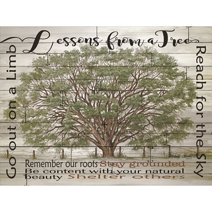 Lessons for a Tree