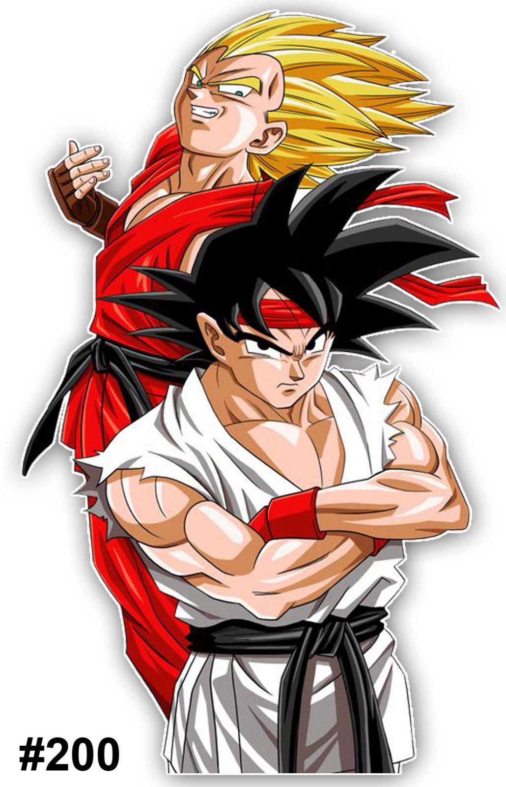 Dragon Ball Z Son Goku Vegeta Vinyl Die-Cut Sticker Decal Funny JDM Japan Anime