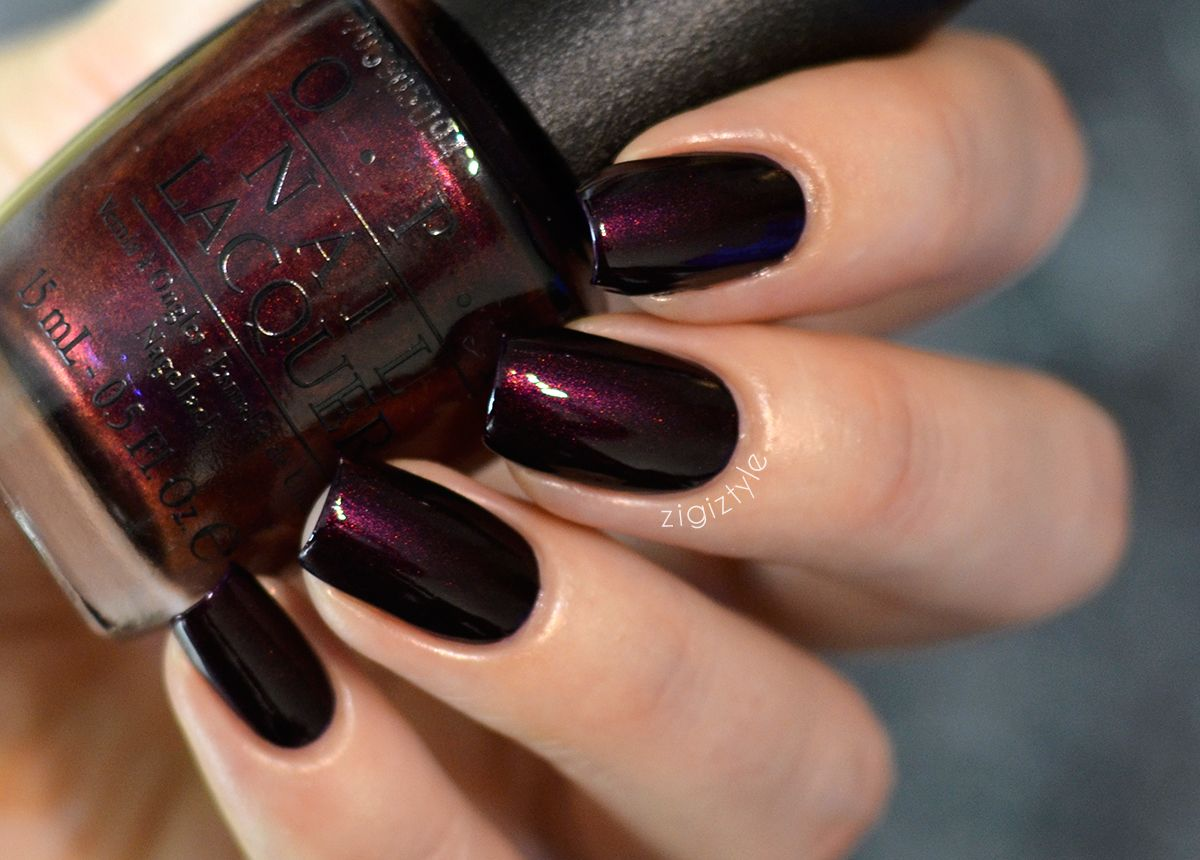 ZigiZtyle: OPI Every Month Is Oktoberfest | ZigiZtyle Swatches ...