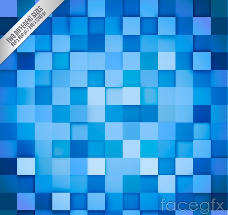 blue checkered background vector for Free Download (With