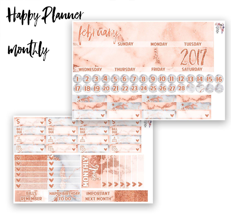 Planificateur De 2017 Planificateur De Janvier Par Karmapaperco Marble Planner Planner Papers Co