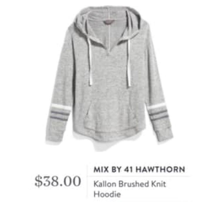 Pin by Kristin Camacho on Stitch Fix wJess   Knit hoodie
