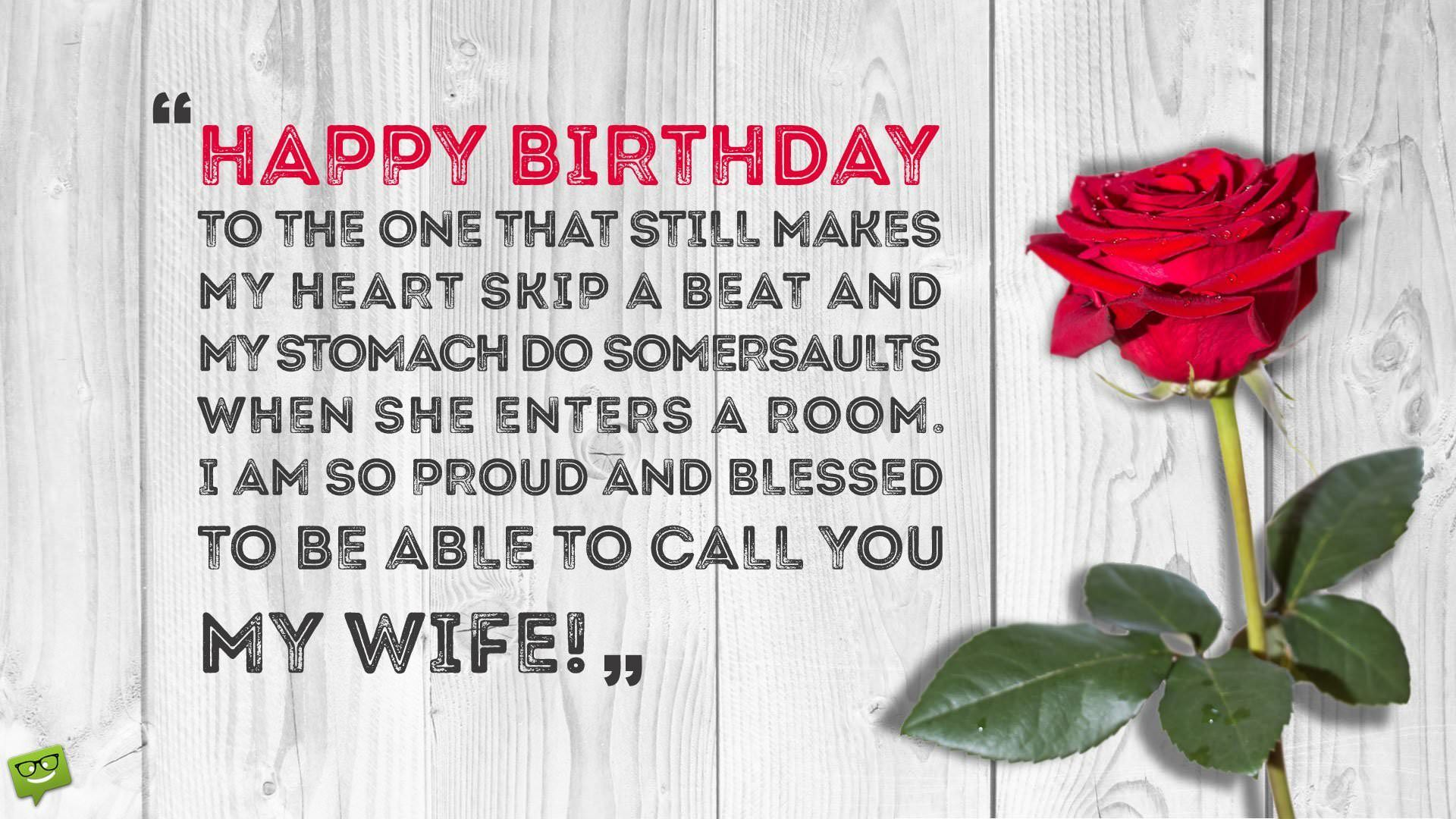 220 Birthday Wishes Your Wife Would Appreciate Sister Birthday Quotes Romantic Birthday Wishes Birthday Quotes Funny
