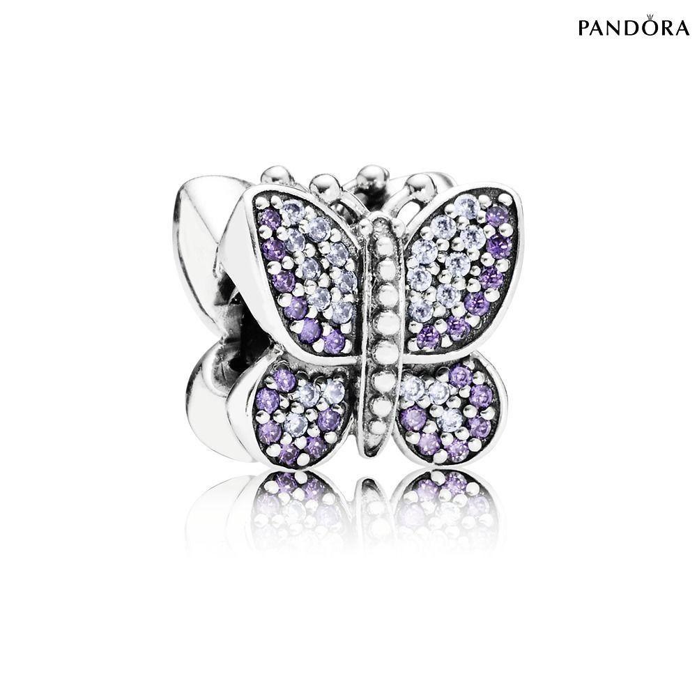 charm papillon pandora femme