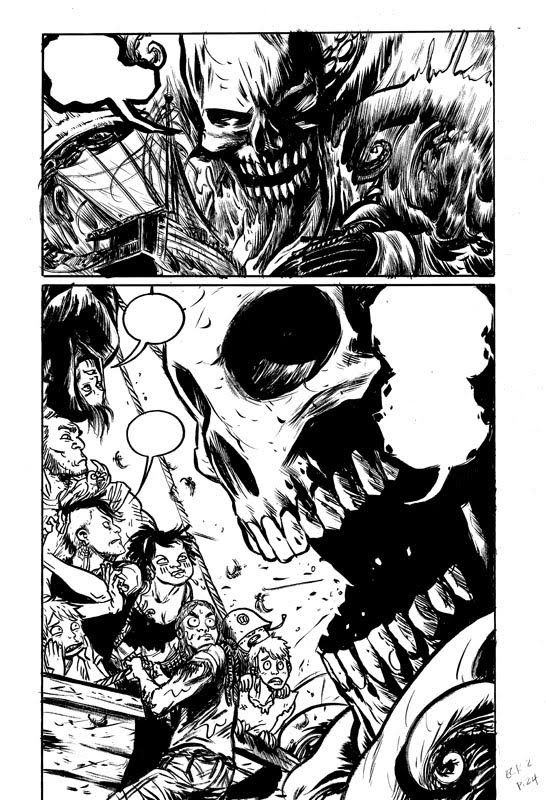 A page from Becky Cloonan's East Coast Rising, Vol 2