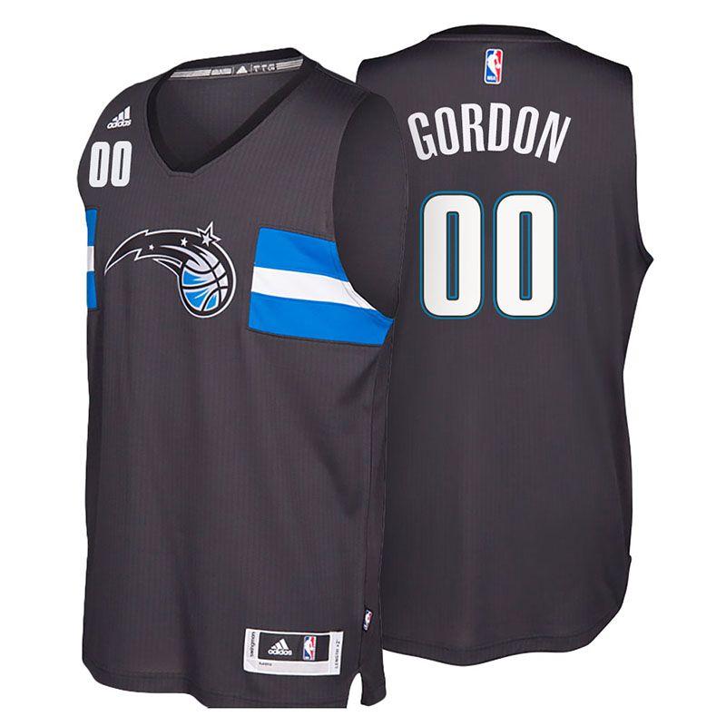 Orlando Magic  00 Aaron Gordon 2016-17 Star Alternate Black New Swingman  Jersey 8d59f6aa1
