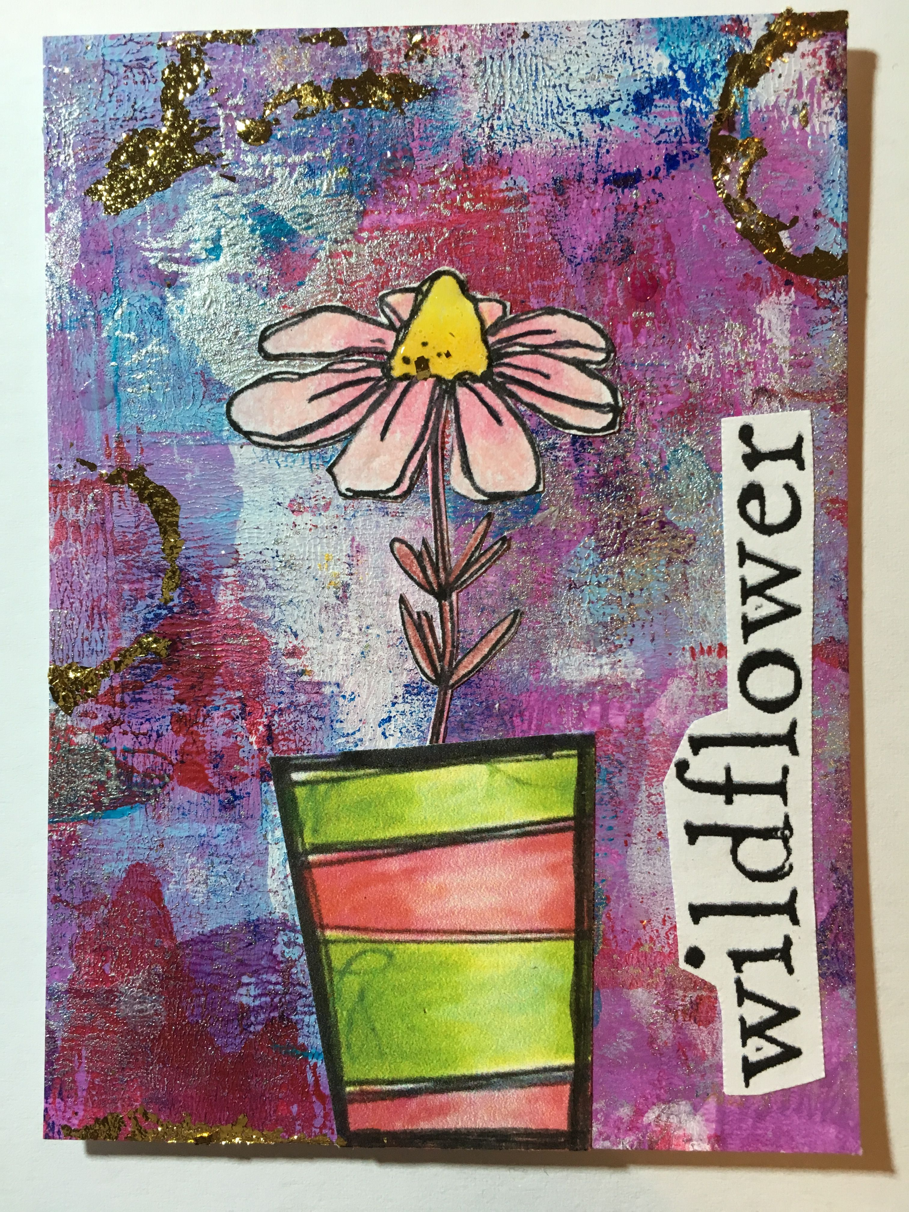Atc swap with images artist trading cards atc cards