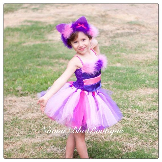 Alice in Wonderland Inspired Cheshire Cat Tutu Ears by NaomiBlu ...