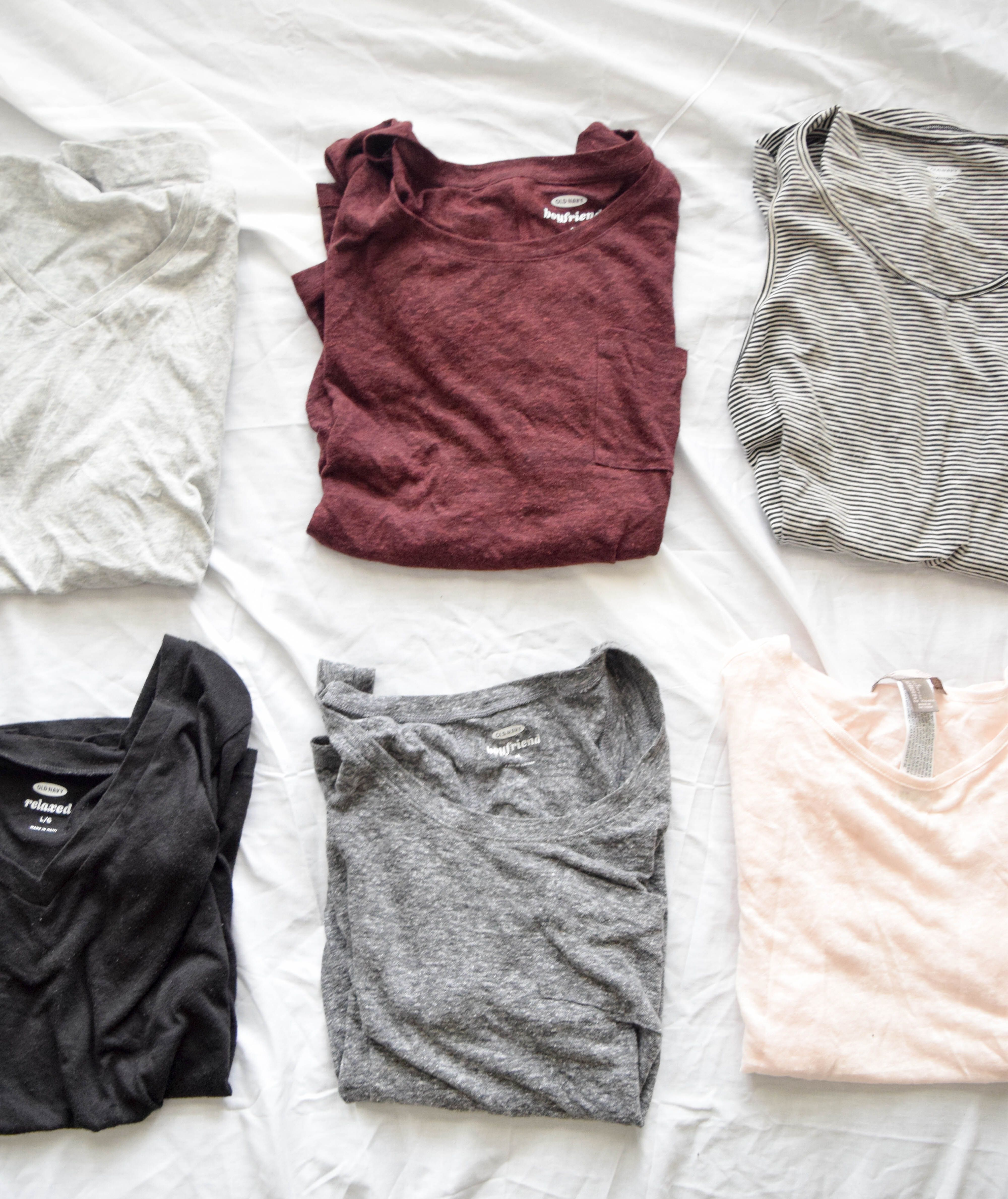 I'm too indecisive to actually try a capsule wardrobe, but if I had to, this would be it. To see what else I'd choose, check out the blog.