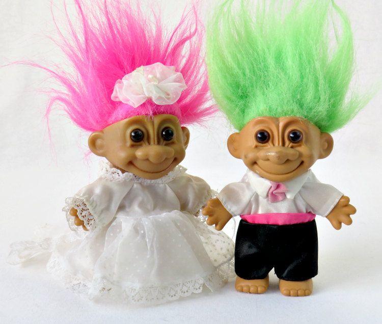 """5/"""" Russ Troll Doll WEDDING BRIDE NEW IN ORIGINAL WRAPPER"""