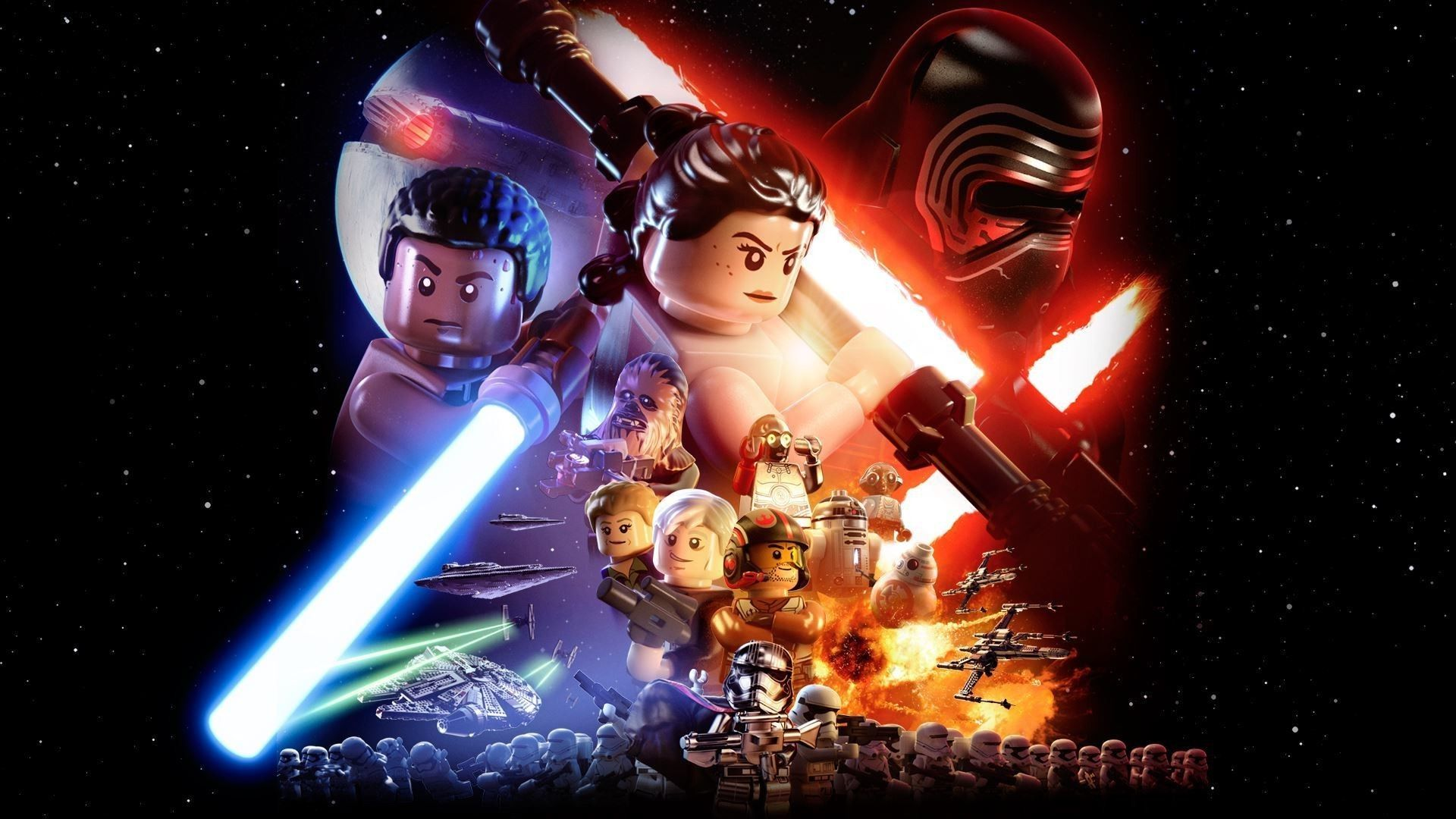 lego star wars: the force awakens video game - deluxe edition