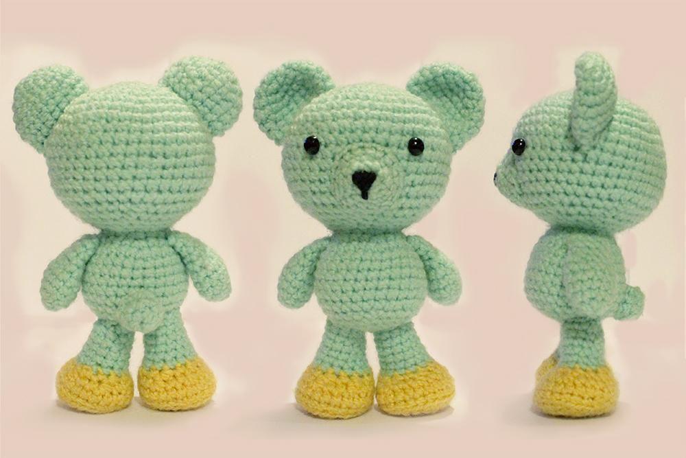 Easy Amigurumi Bear Pattern : 10 easy amigurumi patterns easy amigurumi pattern amigurumi and