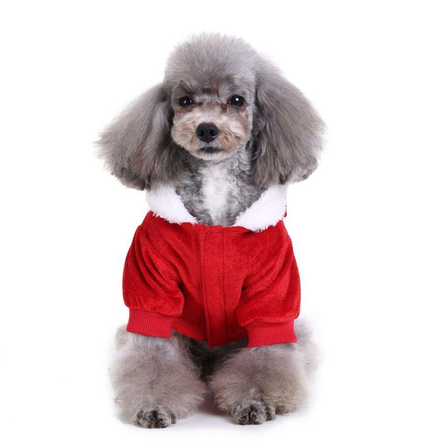 Winter Warm Dog Pet Christmas Coat Xmas Clothes Pets Dogs Jackets