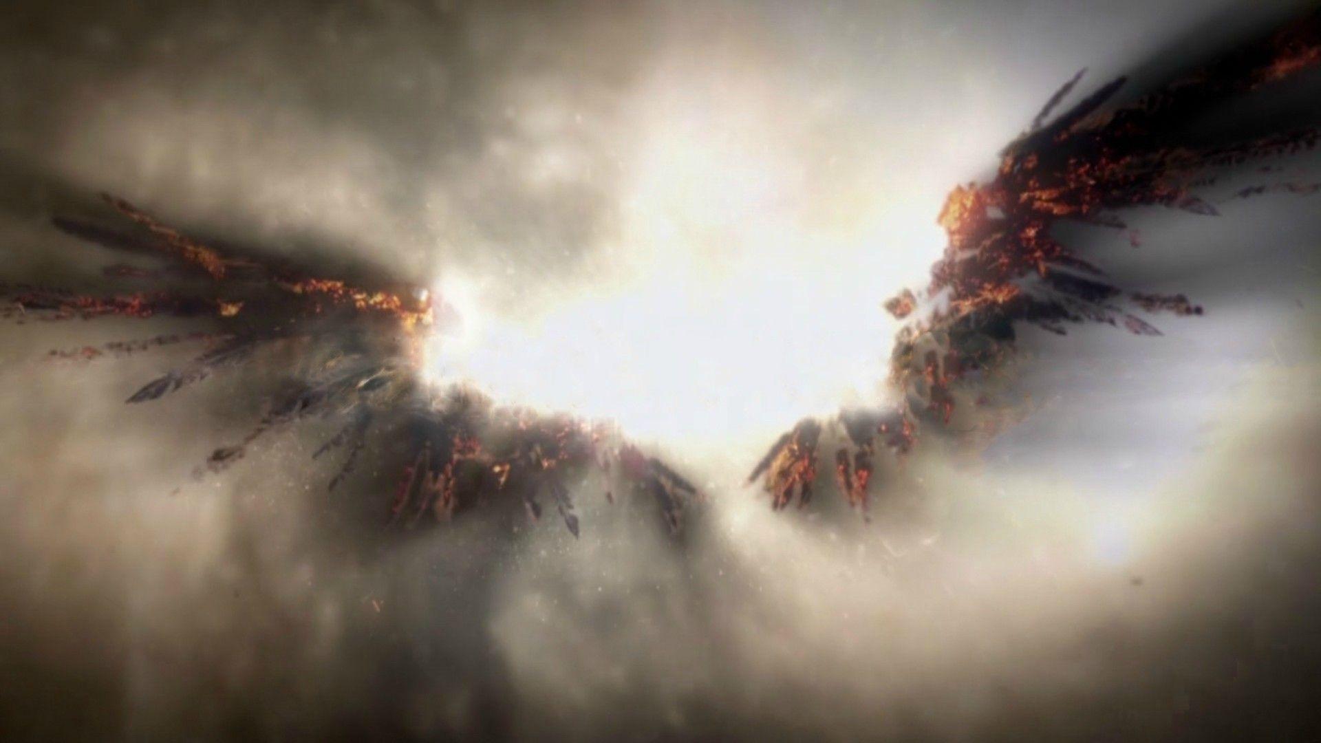 Supernatural Season 9 Wallpaper Angel Wings | www.pixshark ...