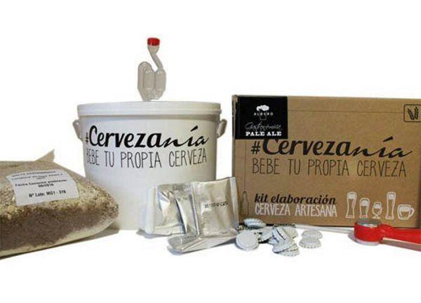 Kit de Elaboración Cerveza Artesana por 48,90 euros!! 15% de descuento!! Mejor precio!!