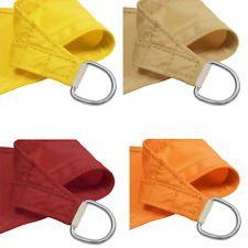 Waterproof Rectangle Sun Shade Sail Fabric Canopy Patio Awning 8 10