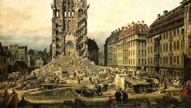 Canaletto-Ausstellung in München Wirklich alles in bester Ordnung? Wie man den Fürsten schmeichelt: Die Gemälde von Bernardo Bellotto bestechen bis heute durch ihre scheinbar wirklichkeitsgetreue Detailgenauigkeit. Sein Genie aber lag in der perfekten Manipulation.
