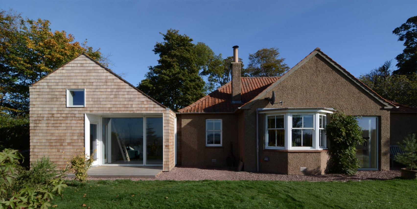 Gabled Guesthouse By Sutherland Co Extends Countryside Cottage Cottages Scotland Cottage House Extensions