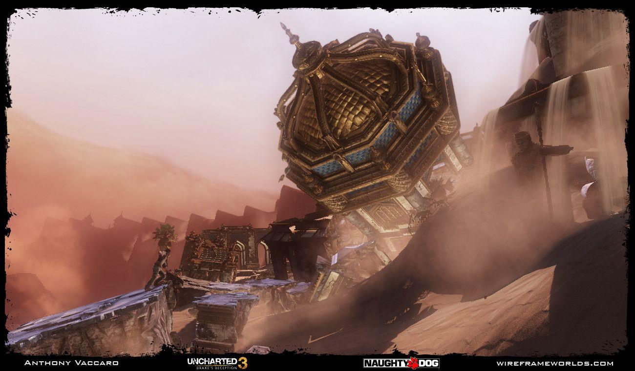 Artstation Uncharted 3 Drakes Deception Atlantis Of The Sands