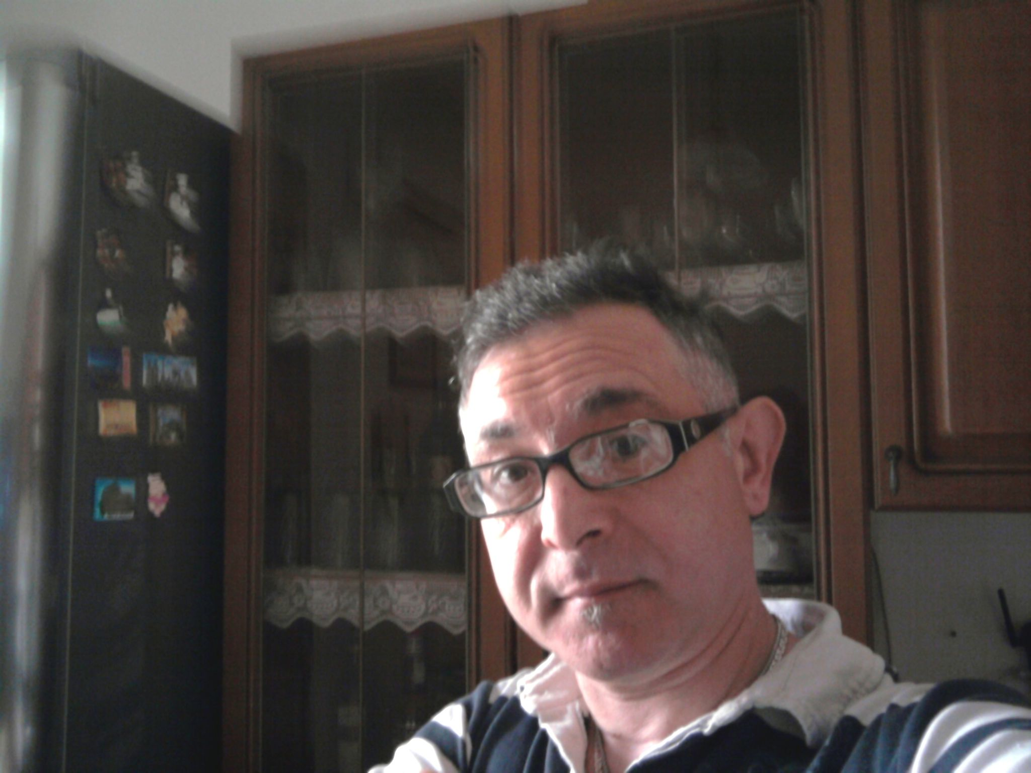 Meine ratlose Gesicht Befragung O_O  Gino D'Aquino