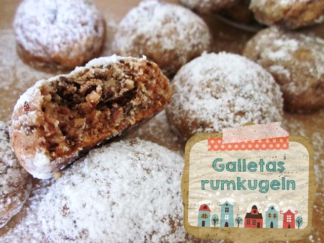 hierbas y especias: galletas rumkugeln para acompañar y un acto solidario