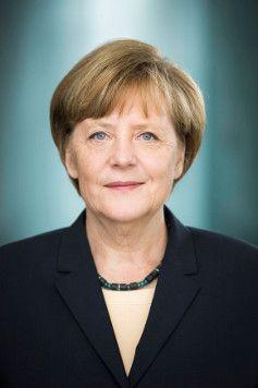 Bundeskanzlerin Angela Merkelkanzlerin Portrat Bkin