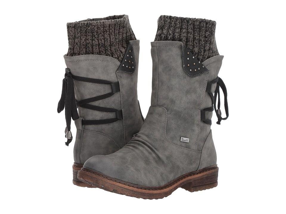 Rieker 94773 Women's Dress Boots SmokeSchwarz   Products
