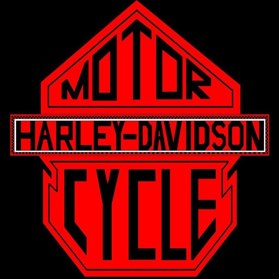 Harley Davidson Bar Shield Logo Rund Ums Haus