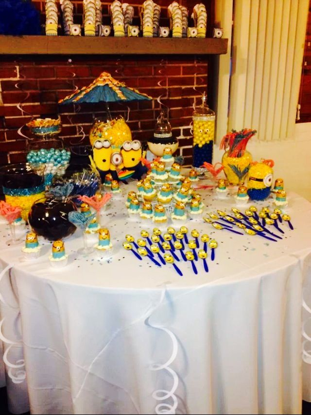 Minion Themed Baby Shower