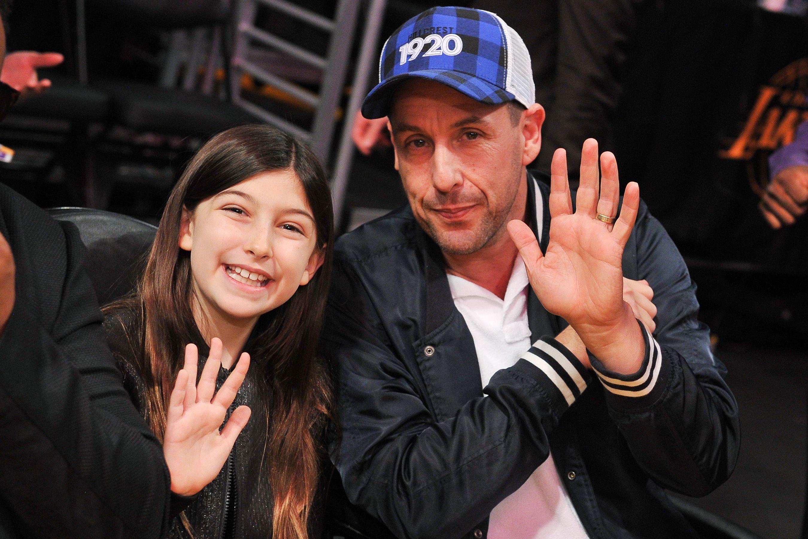Dream Come True! Adam Sandler's 10YearOld Daughter
