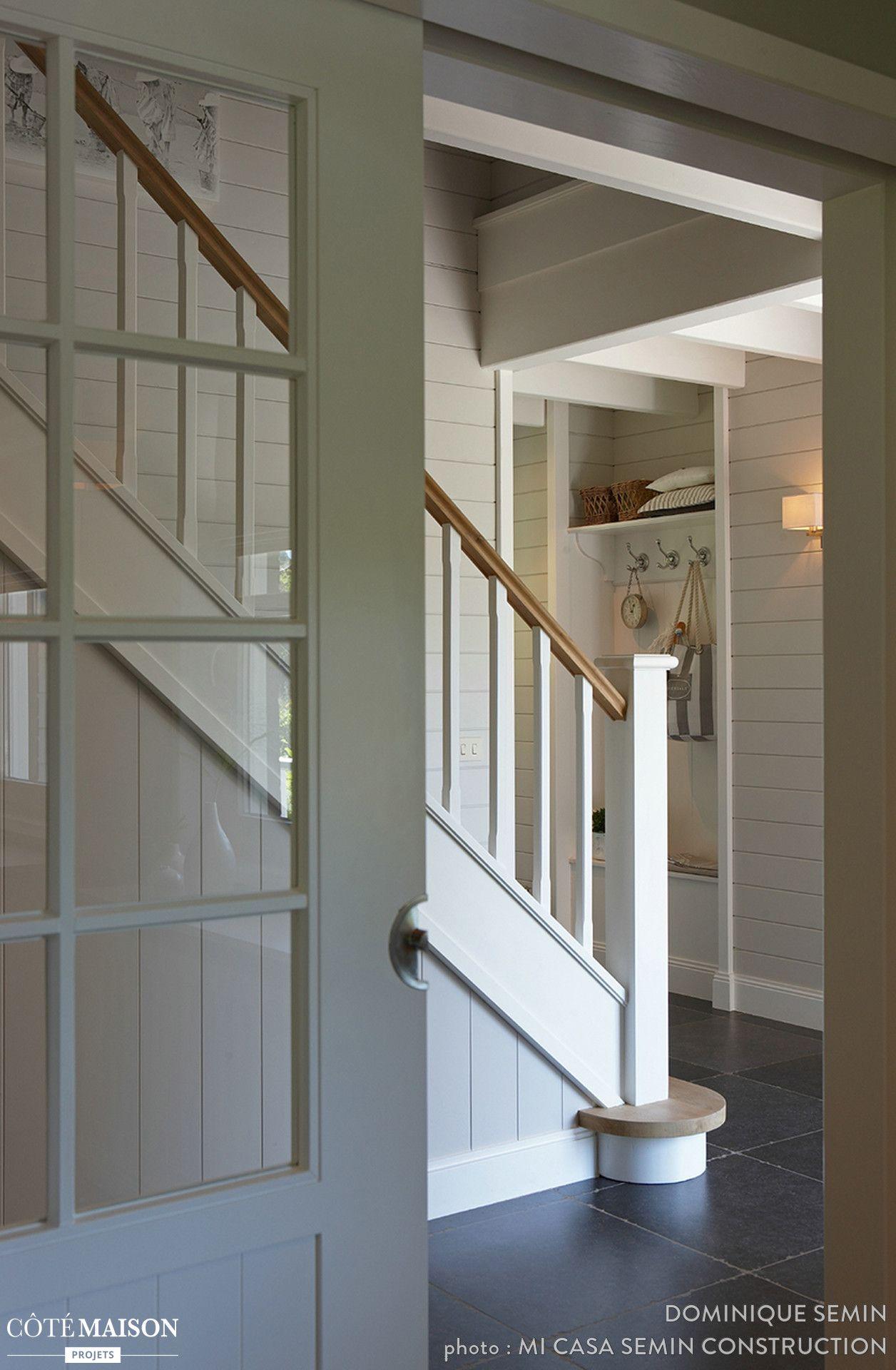R novation d 39 une maison familiale avec cabinet m dical for Idee renovation couloir